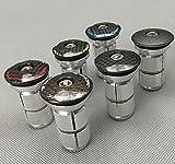 Celtics Kohlefaser MTB Rennrad Headset-Cap mit Stern-Nuss Aluminium Expander mit 1, Expander only