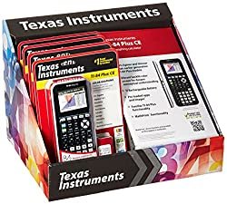 Texas Instruments SP/16/CBS/84PLCE/F TI84 Plus CE 4 Pack Tray 2016