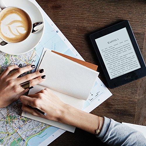 Kindle Paperwhite (Vorgängermodell - 7. Generation), zertifiziert und generalüberholt, wasserfest und mit doppeltem Speicherplatz, WLAN