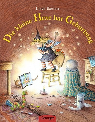 Die kleine Hexe hat Geburtstag: Pappbilderbuch (Popular Fiction) Klappe Hat