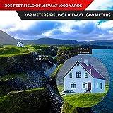 Fernglas 10x42 für Vogelbeobachtung, Jagd, Safari - HD bak4 Linsen, Wasserdicht Test