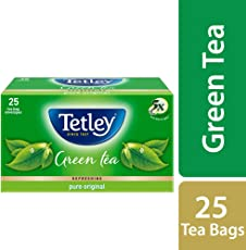 Tetley Green Tea, Pure Original, 25 Tea Bags
