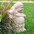Gärtner Pötschke Terracotta-Figur Crazy Buddha von Gärtner Pötschke bei Du und dein Garten