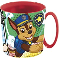 Paw Patrol 864626 Tasse micro-ondes 350 ml Patrouille 'Comic' (18904), non applicable, rouge