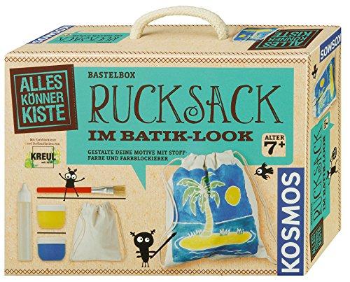 KOSMOS Experimente & Forschung 604332 Rucksack Im Batik-Look