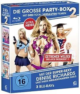 Die große Party Box 2 - Boxset mit 3 Filmen (American High School, Wild Chicks, Im tiefen Tal der Superbabes) [3 Blu-rays]