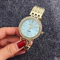YuzhouGJ Steel Special Women`s Watches Watch Women`s Watches Women`s Pretty Gold Women`s Watch Watch Vintage Quartz Wrist (None Gold-contraband!)