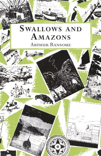 Book cover for Swallows and Amazons