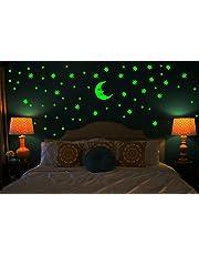 DreamKraft Galaxy of Stars Radium Glow in The Dark' Wall Stickers - (Vinyl, 31.8x18.8x0.8cm, Multicolour)