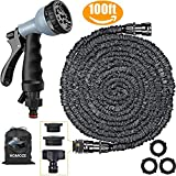 Best Hose Expandables - Expandable Garden Hose pipe 100ft Green Water Hose Review
