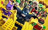 The Lego Batman Movie Animation ON FINE ART PAPER HD QUALITY WALLPAPER POSTER