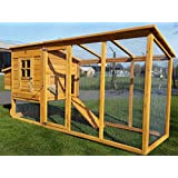 8FT COCOON CHICKEN COOP FOR 5-8 BIRDS HEN HOUSE POULTRY ARK NEST BOX NEW - NOW WITH REAR VENT HOLES AND SECURE NEST BOX FLOOR - 30% MORE LIVING SPACE THAN MODEL 3000 NOW WITH OPENING ROOF FOR EASY CLEANING (NO SHIPING TO NORTHERN IRELAND, ISLANDS, SCOTTISH HIGHLANDS)