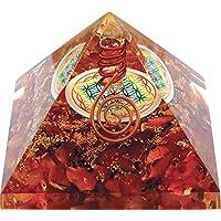 Orgonit-Pyramide Blume des Lebens und Karneol (starker Glücksbringer)- preisvergleich bei billige-tabletten.eu
