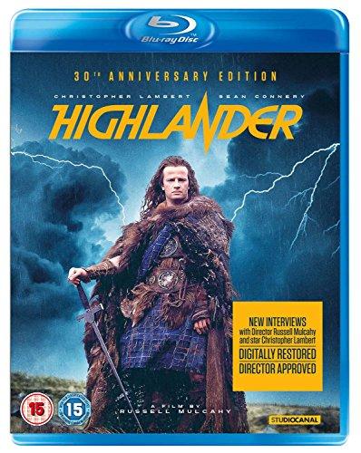 Highlander [Blu-ray] UK-Import, Sprache-Englisch.