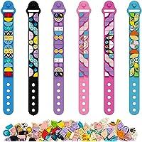 Lot de 6 kits de fabrication de bracelet à bricoler soi-même Cool Arts et artisanat Bracelets d'amitié jouets pour…