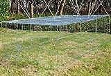 WOLTU HT2066m1 Freigehege Laufstall Gehege Kleintiergehege Welpenauslauf mit Ausbruchsperre 216 x 116 x 65 cm, mit Abdeckung, inkl. Sonnenschutz, Verzinkte Ausführung - 3