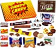 American Chocolate and Candy Sweets Gift Box - The Perfect Affordable Gift For Everyone- Letterbox Friendly Gift Box