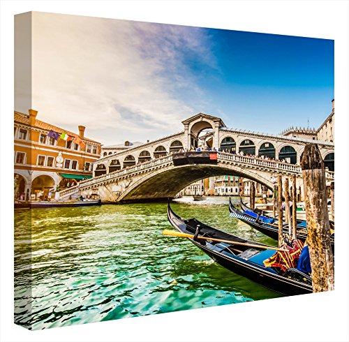 CCRETROILUMINADOS Gran Canal Rialto Venecia Cuadros