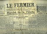 Telecharger Livres LE FERMIER LE MESSAGER DU COMMERCE L AGRICULTURE NOUVELLE L AVICULTEUR FRANCAIS 86e ANNEE N 39 14 MAI 1959 MARCHE DE LA VILLETTE MARCHE AUX GRAINS PAILLES ET FOURRAGES COURS DES HALLES CENTRALES DE PARIS PROTECTIONS DES COLZAS (PDF,EPUB,MOBI) gratuits en Francaise