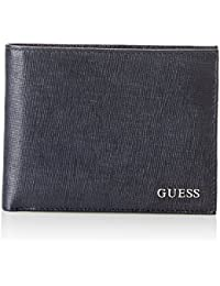 Guess Sm2307lea27, Borsa Organizer Portatutto Uomo, Blu, 2x9.8x12.4 cm (W x H x L)