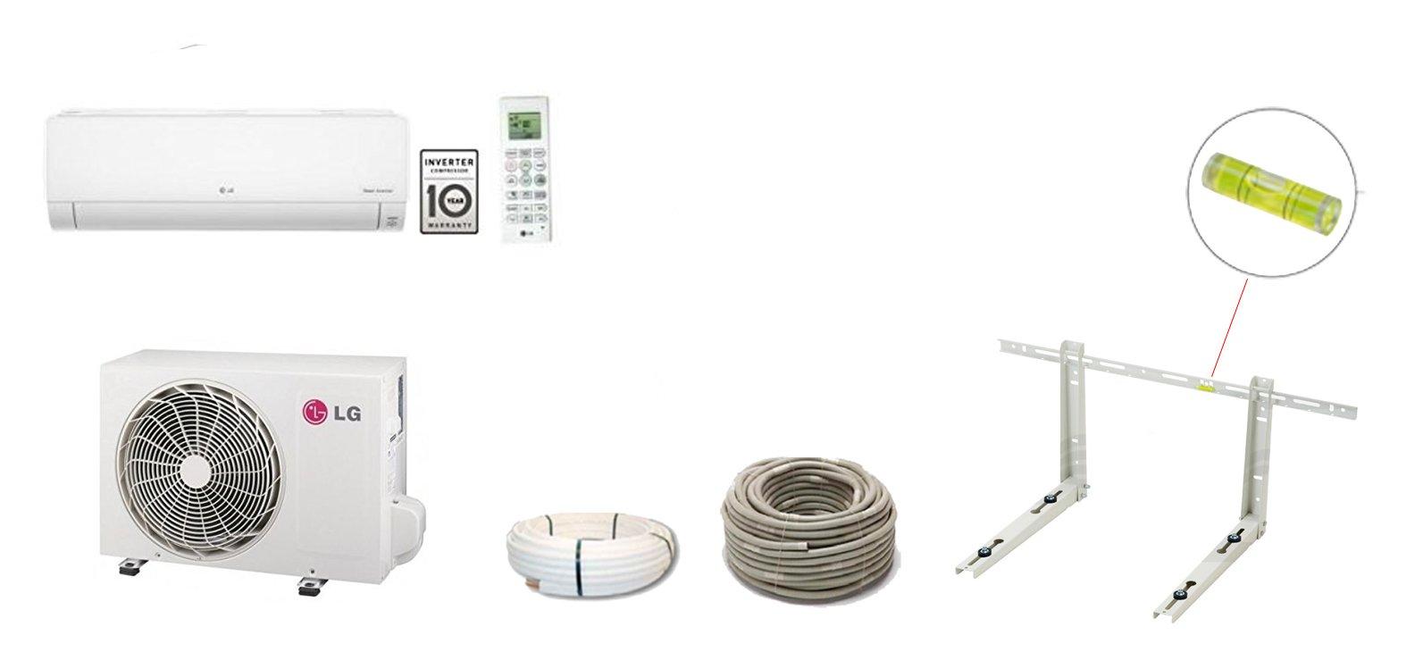 LG Climatizzatore p09en Standard Plus Smart Inverter Single Split 2,5KW a + +/A +