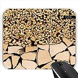 Mousepad - Heizspaltholz by Carsten Reisinger