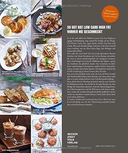 Low Carb Kochbuch: Easy. Überraschend. Low Carb. Das große LCHF-Kochbuch Abnehmen mit genialen Rezepten auch für Brot, Brötchen, Pizza, ... Knödel und Püree (Gesund-Kochbücher BJVV)