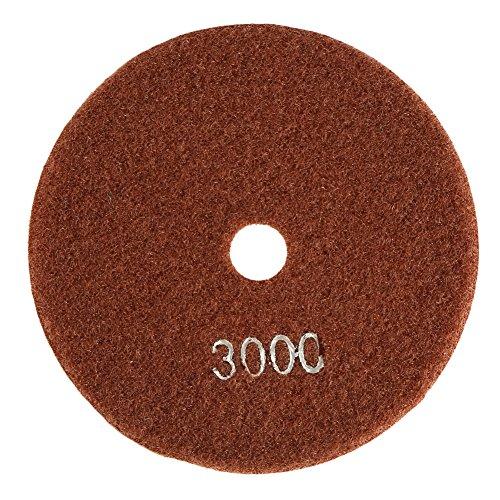 5pulgadas/125mm Disco de Pulido de Diamante Húmedo Almohadilla de Pulido de Diamante...