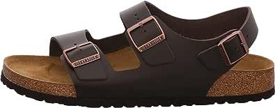 Birkenstock Milano Dark Brown Smooth Leather