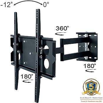 Allcam L273m Universal Swivel Arm Wall Bracket For 40 50