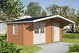 Gartenhaus PEDRO D 70 Blockhaus 500x350cm 70mm Blockhaus Holzhaus