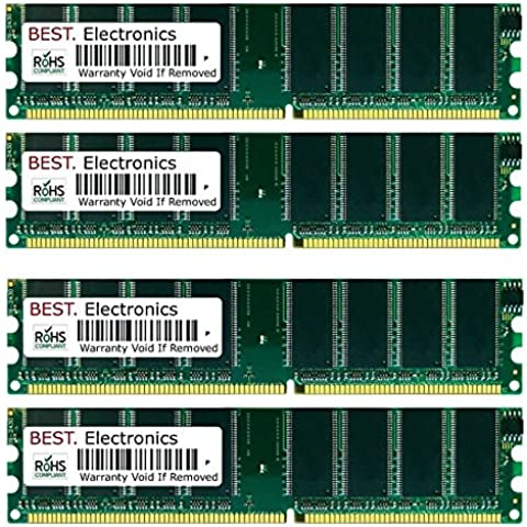 4GB Kit (4x 1GB) Fujitsu-Siemens Scaleo P (MS-7031) RS350-ILSR memoria
