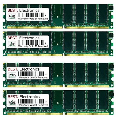 4GB Kit (4x 1GB) Dell Dimension 4800 memoria