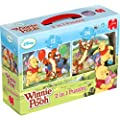 Disney Winnie the Pooh - 2 in a Box Jigsaw Puzzles