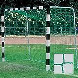 Donet Handballtornetz/Kleinfeld 3,1 x 2,1 m Tiefe oben 0,80/unten 1,00 m, PP 3 mm ø, grün