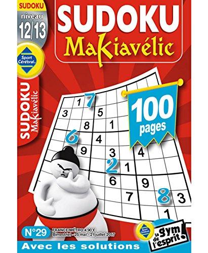 Sudoku Makiavélic Niveau 12/13 par sportcerebral
