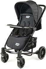 Luvlap Elite Baby Pram Stroller (Black)