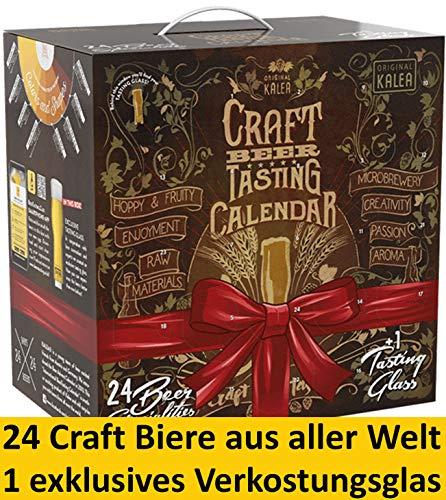 Kalea Craft Beer Adventskalender 2019 | Internationale Edition | 24 x 0.33 l Internationale Craft Biere | Geschenkidee Zur Vorweihnachtszeit