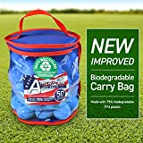 Second Chance 50 Lake Golf Balls with Storage Bag