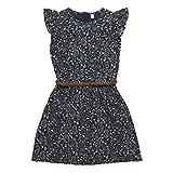 ESPRIT KIDS Mädchen Kleid RK30015, Blau (Ink 489), 128 (Herstellergröße: XS)