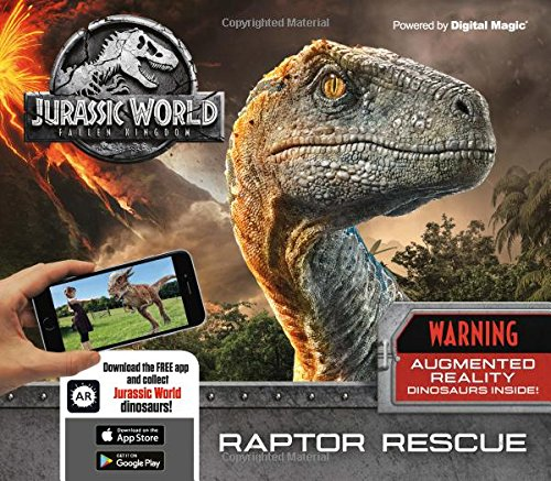 Jurassic World Fallen Kingdom: Raptor Rescue (Augmented Reality) por Caroline Rowlands