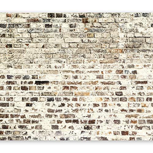murando - Papier peint intissé 350x256 cm - Papier peint - Trompe l oeil - Tableaux muraux déco XXL - Brique f-A-0411-a-d