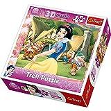 Trefl - Puzzle 3D Princesas Disney de 120 piezas (TR35644)