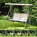 Grün Wasserabweisend Ersatz Baldachin für 2-Sitzer Argos Malibu Swing Sitz * Swing nicht enthalten * von Gardenista - Gartenmöbel von Du und Dein Garten