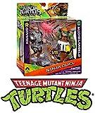 Teenage Mutant Ninja Turtles Toy - Ninja Duel Kraang vs Michelangelo 5 Inch Action Figure 2 Pack