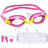 Gafas Buceo Niño, Gafas Natacion, Ultravioleta Protegido Anti Niebla Anti-Fugas Robustas Universal Gafas de Buceo Para Niños,
