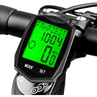 New Road Cycling Computer Waterproof ANT Speedometer bicycle Mileometer UK troy