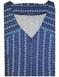 Tobeni Bata con la cremallera 100 de algodón de color o blanco y negro hasta la talla 62, Color:Design 34;Size:24