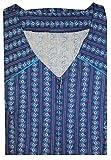 Tobeni Kittelschürze mit Reissverschluss 100 Baumwolle Bunt o. Schwarz-Weiss bis Größe 62 Farbe Design 34 Grösse 50