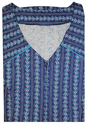 Tobeni Tablier Femme avec Fermeture eclair et Sac 100 Coton Couleur Design 34 Taille 60